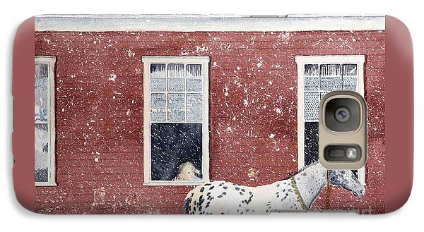 Galaxy Case featuring the painting The Ride Home by LeAnne Sowa