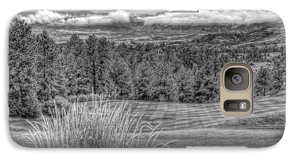 Galaxy Case featuring the photograph The Ridge 18th by Ron White