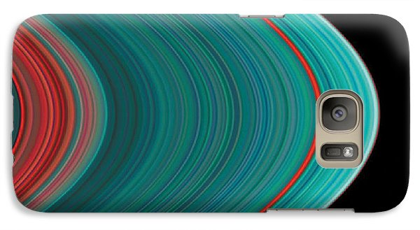 The Rings Of Saturn Galaxy Case by Anonymous