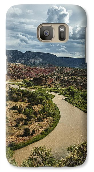 Galaxy Case featuring the photograph The Rio Chama by Terry Rowe
