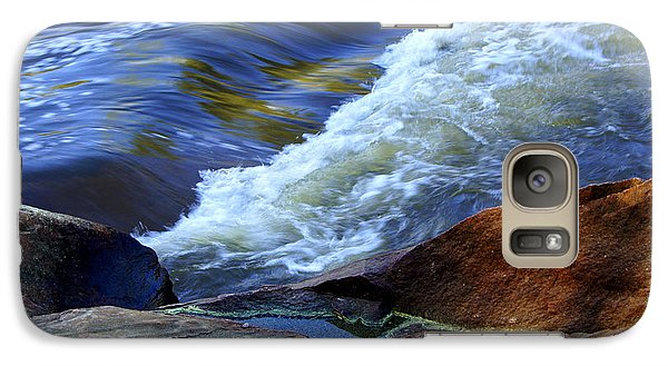 Galaxy Case featuring the photograph The River by Debra Crank