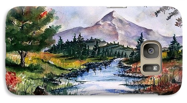 Galaxy Case featuring the painting The River by Richard Benson