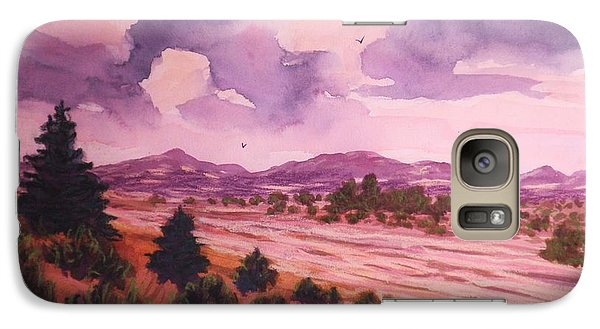 Galaxy Case featuring the painting The Riverbed  by Suzanne McKay