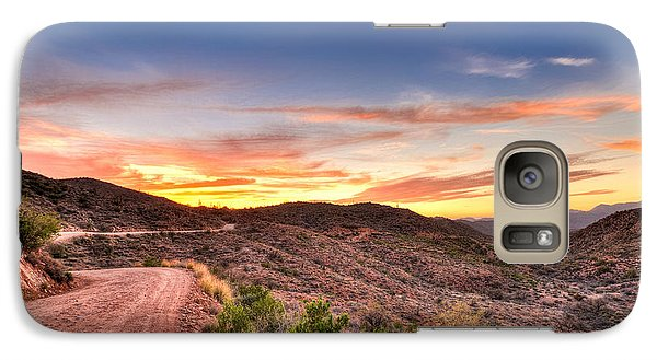 Galaxy Case featuring the photograph The Road Ahead by Anthony Citro