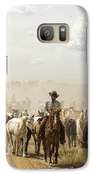 Galaxy Case featuring the photograph The Road Home 2013 by Joan Davis