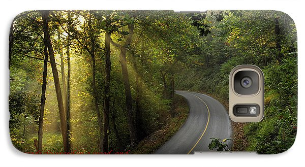 Galaxy Case featuring the photograph The Road Less Traveled 2 by Dan Myers
