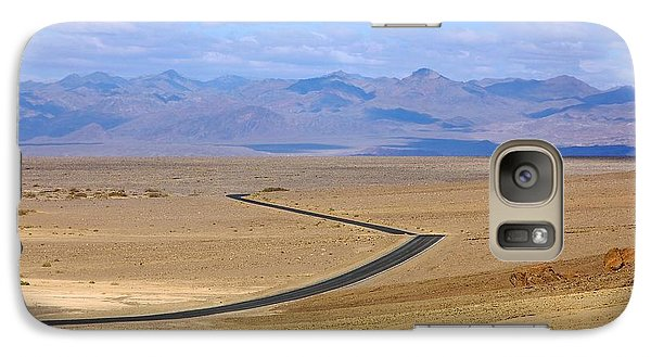 Galaxy Case featuring the photograph The Road by Stuart Litoff
