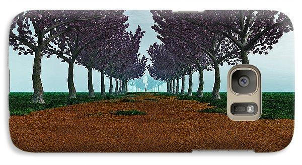 Galaxy Case featuring the digital art The Road... by Tim Fillingim