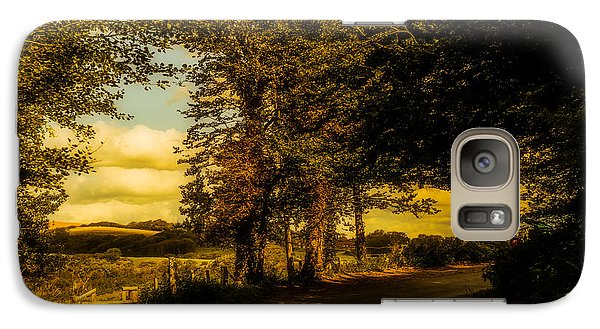 Galaxy Case featuring the photograph The Road To Litlington by Chris Lord