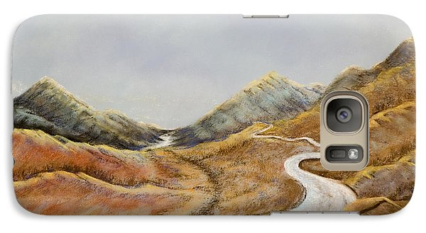 Galaxy Case featuring the painting The Road To Nowhere by Susan Culver