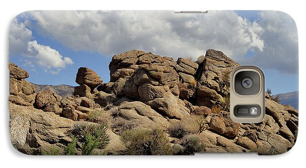 Galaxy Case featuring the photograph The Rock Garden by Michael Pickett