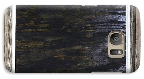 Galaxy Case featuring the painting The Rock River by Kurt Olson