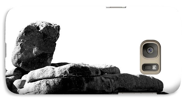 Galaxy Case featuring the photograph The Rocks Of Contrast by Carolina Liechtenstein