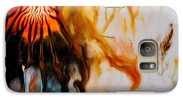 Galaxy Case featuring the painting The Root by Christine Ricker Brandt