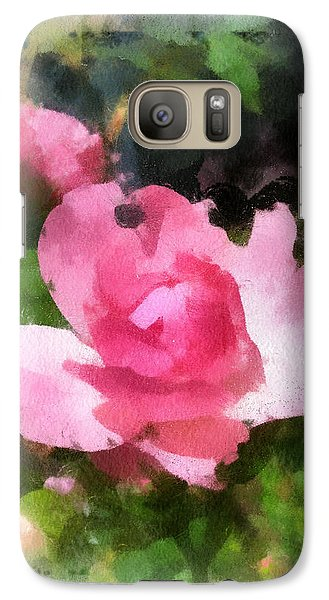 Galaxy Case featuring the photograph The Rose by Kerri Farley
