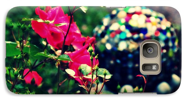 Galaxy Case featuring the photograph The Rose's Ball by Mindy Bench