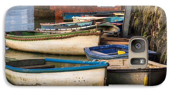 Galaxy Case featuring the photograph The Rowboats Of Folkestone by Tim Stanley