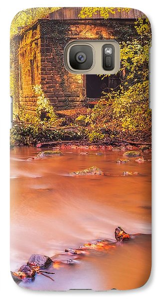 Galaxy Case featuring the photograph The Ruins Of An Old Mill by Maciej Markiewicz