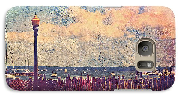 Galaxy Case featuring the photograph The Salty Air Sea Breeze In Her Hair Iv by Aurelio Zucco