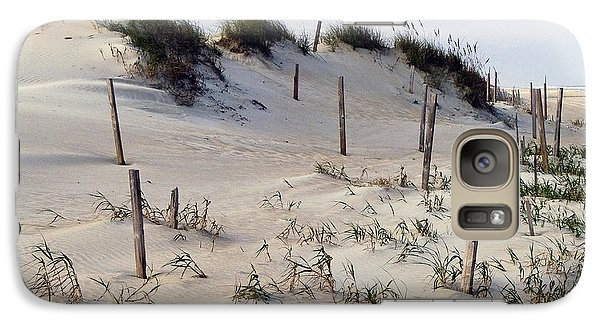 Galaxy Case featuring the photograph The Sands Of Obx by Greg Reed
