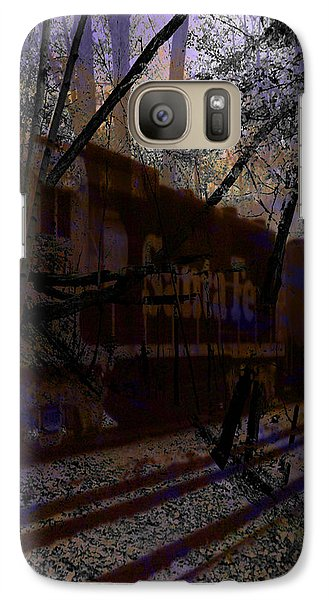 Galaxy Case featuring the digital art The Santa Fe by Cathy Anderson