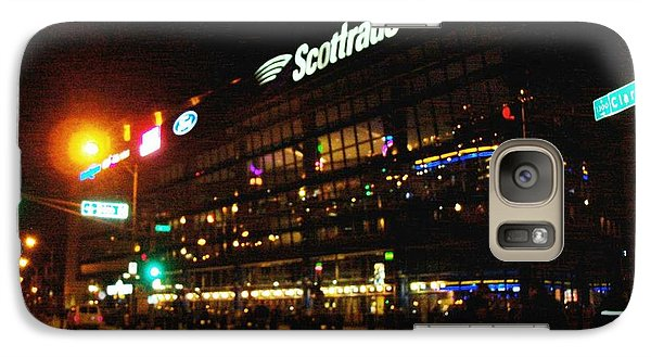 Galaxy Case featuring the photograph The Scott Trade Center by Kelly Awad