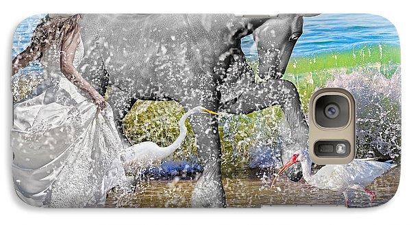 Ibis Galaxy S7 Case - The Sea Horse by Betsy Knapp