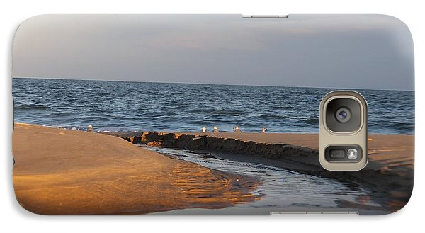 Galaxy Case featuring the photograph The Sea Overcomes by Robert Banach
