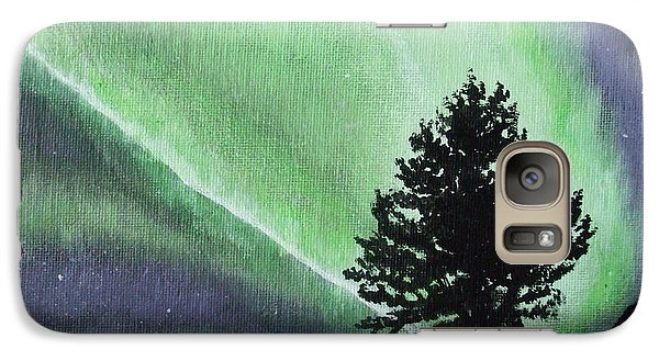 Galaxy Case featuring the painting The Sentinel by Dan Wagner