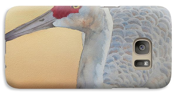 Galaxy Case featuring the painting The Sentinel by Judy Mercer