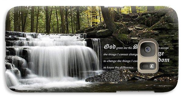 The Serenity Prayer Galaxy S7 Case