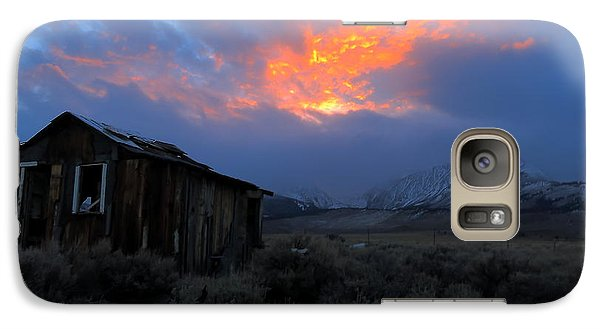 Galaxy Case featuring the photograph The Shack V.2 by Paul Foutz