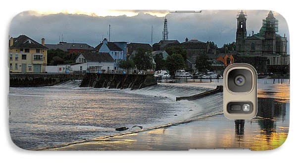 Galaxy Case featuring the photograph The Shannon River by Brenda Brown