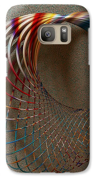 Galaxy Case featuring the digital art The Shape Of Things To Come by Manny Lorenzo