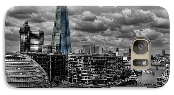 Galaxy Case featuring the photograph The Shard by Trena Mara