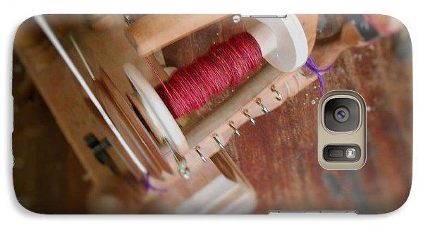 Galaxy Case featuring the digital art The Shawl Yarn by Aliceann Carlton