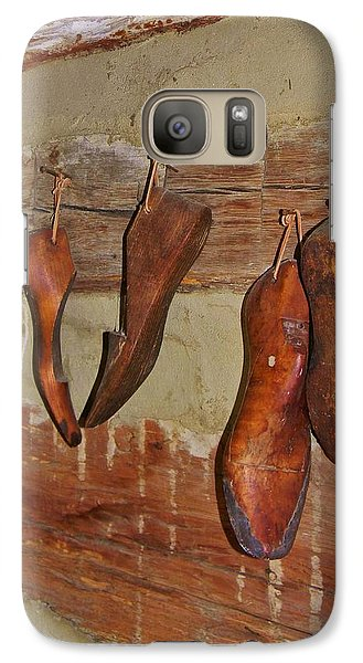 Galaxy Case featuring the photograph The Shoemaker by Jean Goodwin Brooks