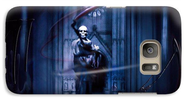 Galaxy Case featuring the photograph The Sickler by Glenn Feron