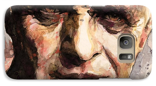 Galaxy Case featuring the painting The Silence Of The Lambs by Laur Iduc