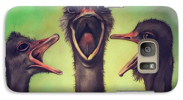 The Singers Galaxy S7 Case by Leah Saulnier The Painting Maniac