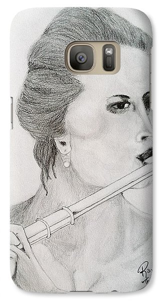 Galaxy Case featuring the painting The Siren by Rand Swift
