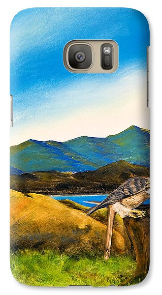 Galaxy Case featuring the painting The Sky Is The Limit by Susan Culver