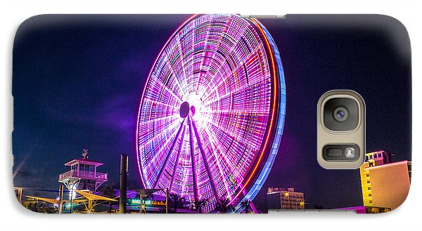 Galaxy Case featuring the photograph The Skywheel by Rob Sellers
