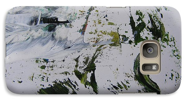 Galaxy Case featuring the painting The Slope by Nancy Kane Chapman