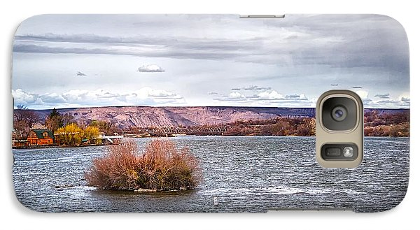 Galaxy Case featuring the photograph The Snake River Near Hagerman Idaho by Michael Rogers