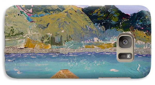 Galaxy Case featuring the painting The South Seas by Phyllis Kaltenbach