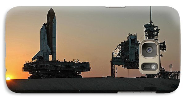 Galaxy Case featuring the photograph The Space Shuttle Discovery by Rod Jones