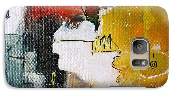 Galaxy Case featuring the painting The Spirit by Gary Smith