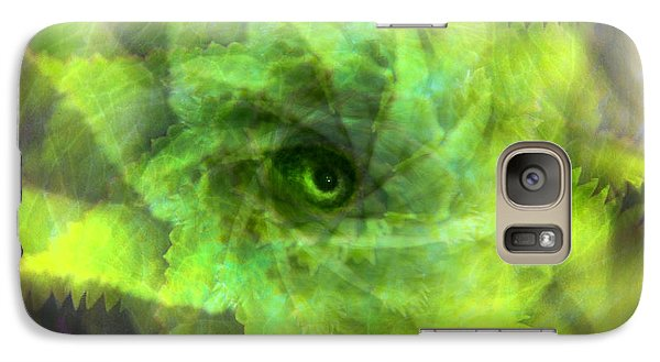 Galaxy Case featuring the digital art The Spirit Of The Jungle by Martina  Rathgens