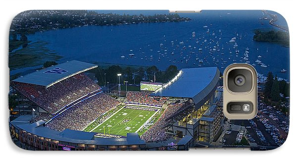 Husky Stadium And The Lake Galaxy S7 Case